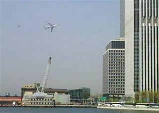 Obama NYC Plane Trip