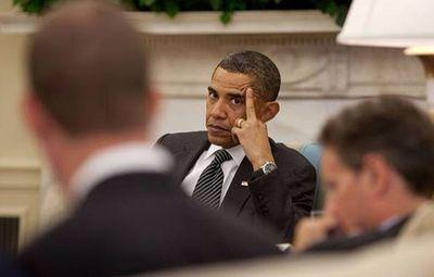 Obamathefinger