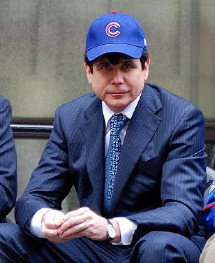Rod Blagojevich Cub Fan