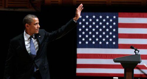 Obamawavepodium