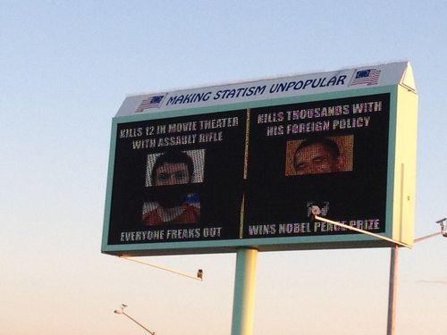 Obama-holmes billboard