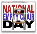 Empty chair day
