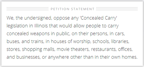Concealcarrypetition