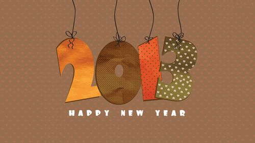 Happy 2013 Wallpaper