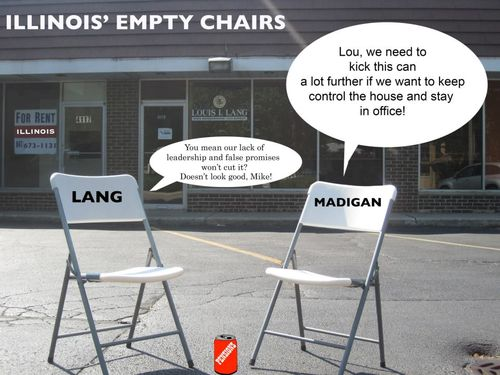 Lang empty chairs