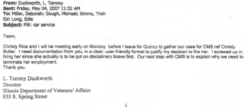 Duckworth email