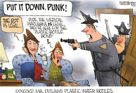 Medical pot cartoon