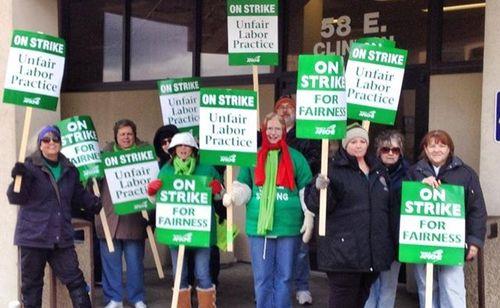 Afscme-strike