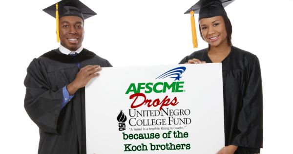 AFSCME drops United Negro College Fund because of donation