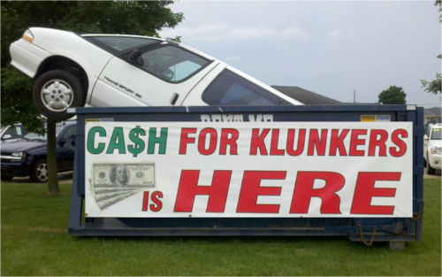 Cash-for-comments-and-clunkers