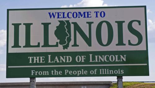 Illinois sign 123rf