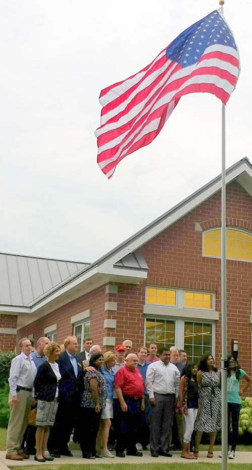 Flag Raising Pic