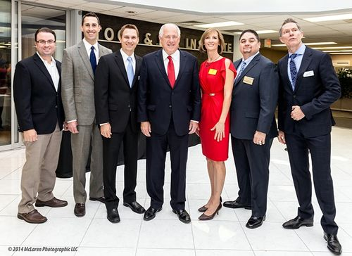 Gov Quinn with TMA Board Members