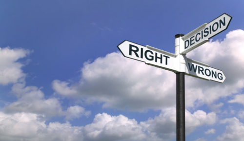 Decision-signpost