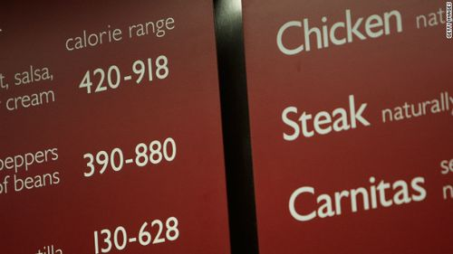 Restaurant-calorie-count-menu