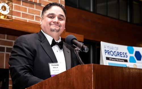 Fernando Ortiz at TMA Annual Meeting