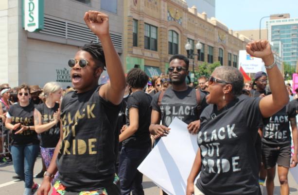 Black gay pride event