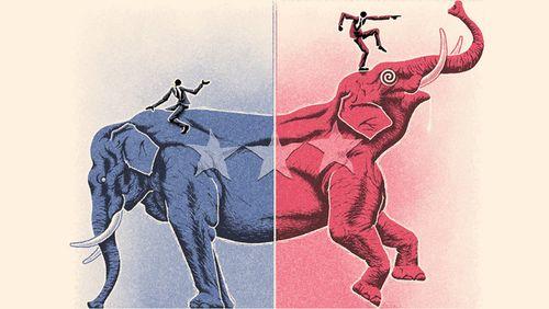 GOP vs Conservative
