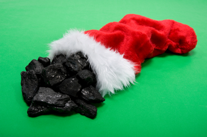 Stocking-w-coal
