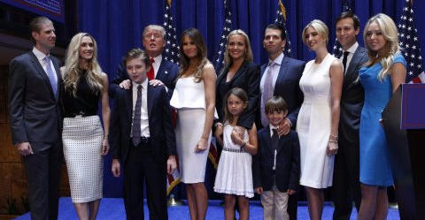 Trump-family-presidential-candidate