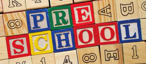 Preschool flyer image