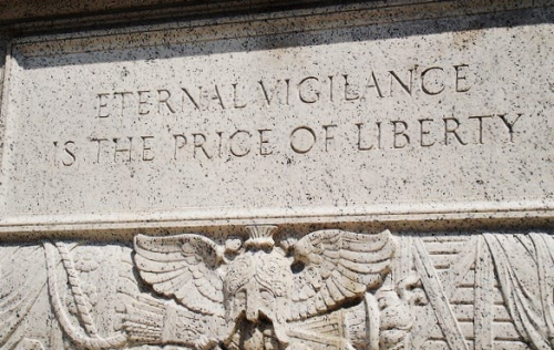 Eternal-Vigilance-is-the-Price-of-Liberty_Engraved-Outside-National-Archives-in-Washington-DC_Photo-by-Vincent-J-Bove
