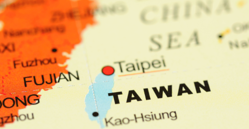 Taiwan-China-map