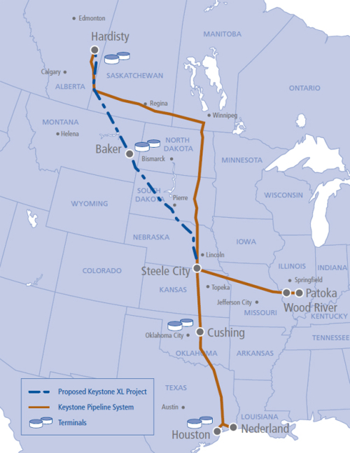 Transcanada-keystone-xl-map