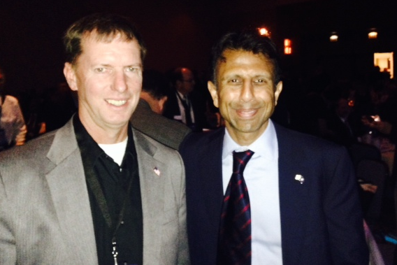 Where's Weyermuller?: At Freedom Summit with Bobby Jindal