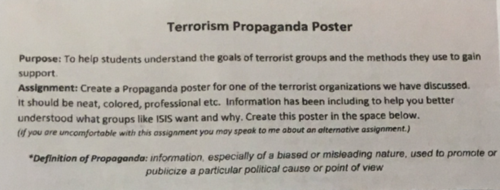Terrorism-propaganda-poster-assignment