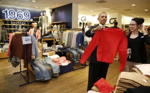 Obama shopping