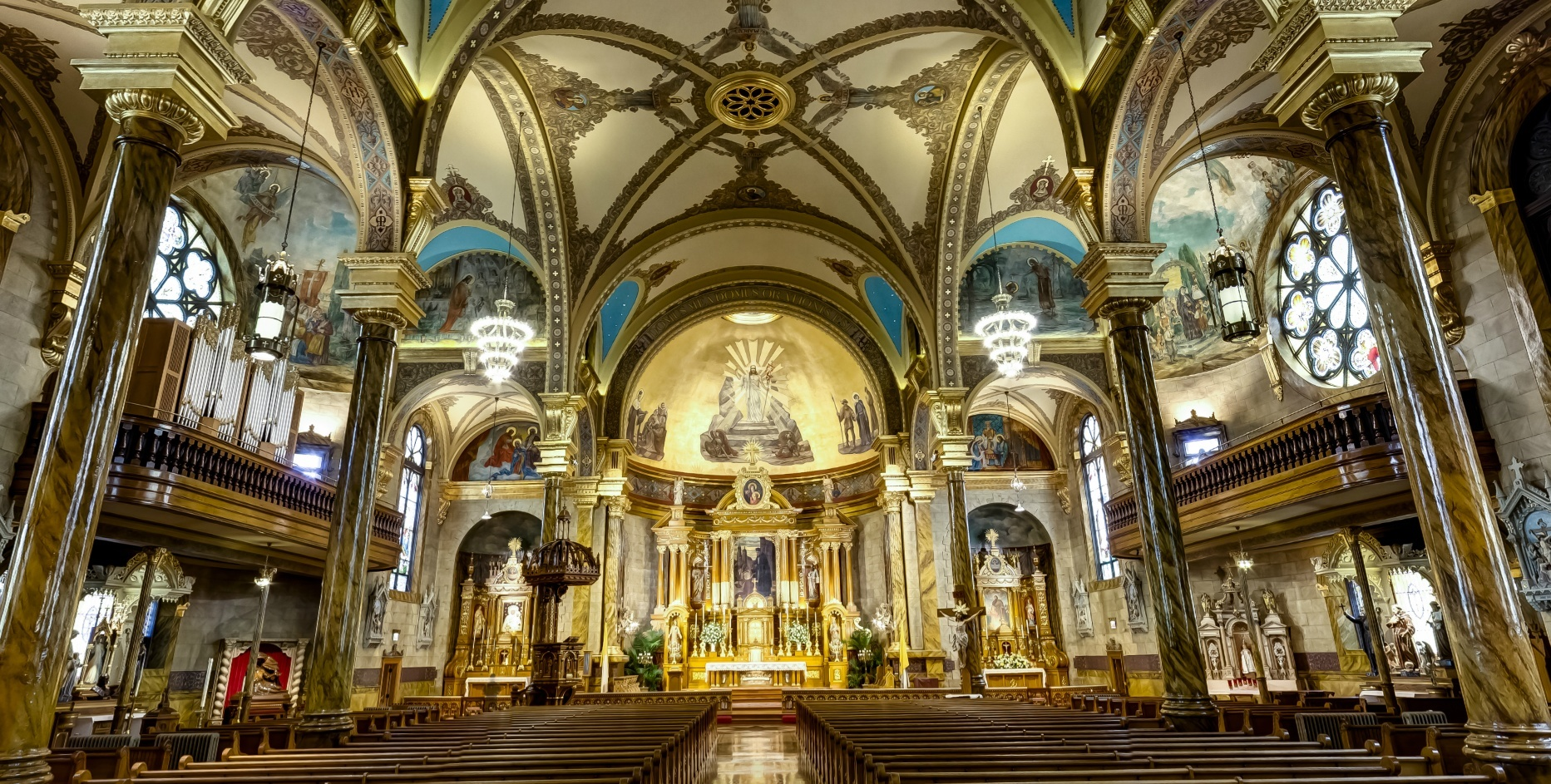 Cantius church chicago wide Illinois Review Religion