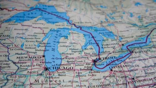 Illinois-great-lakes-map