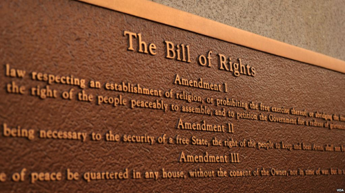 Bill of Rights Bronze