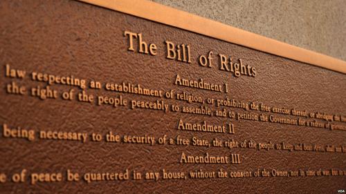 Bill of Rights Bronze
