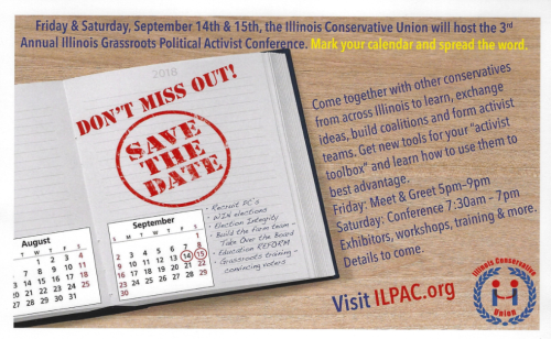 Illinois political action conference scheduled for september 14 icu save the date m4hsunfo